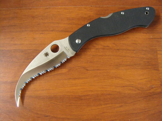 Spyderco Civilian VG-10 Folding Knife - C12GS
