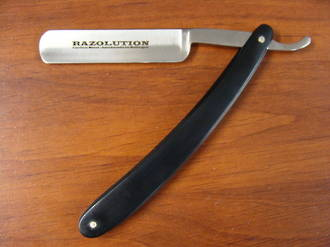 Simba Tec Razolution Straight Razor Black Handle - Germany