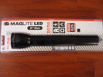 Maglite LED 3 D Cell Torch 3rd Generation 625 Lumens- Black