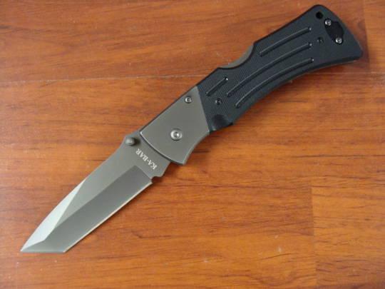 Ka-Bar G10 MULE Tanto Black Knife