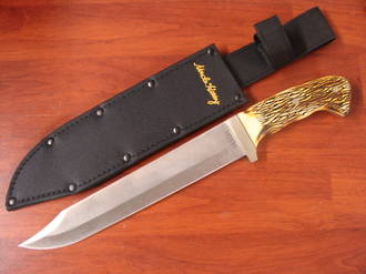 Schrade Uncle Henry Bowie Full Tang Fixed Blade