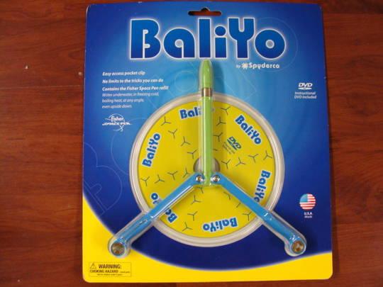 Spyderco BaliYo Blue & Green Made in USA Butterfly flip style