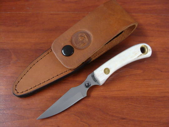 Knives of Alaska  Cub Bear Stag Knife - 7FG