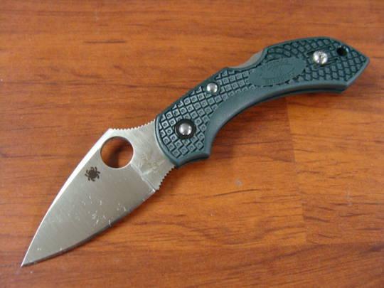 SPYDERCO DRAGONFLY2 ZDP-189 Folding Knife