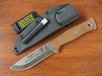 Tops BOB Hunter - Brothers of Bushcraft Knife - Tan