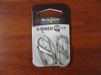 Nite Ize S-BinerS #1 SET OF 2