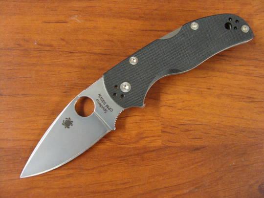 Spyderco Native 5 CPM-S35VN G-10 Folding Knife