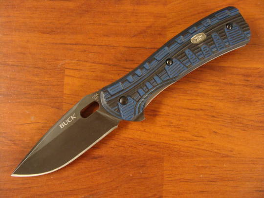 Buck Vantage Pro S30V Plain Folding Knife - 847BLS