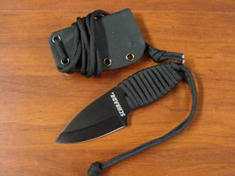 Schrade SCH406N Neck Knife Paracord Handle, W/ Sheath