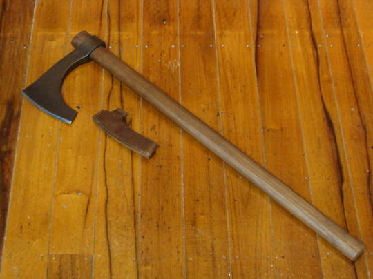 Hanwei Viking Bearded Axe, Antiqued - XH1073N