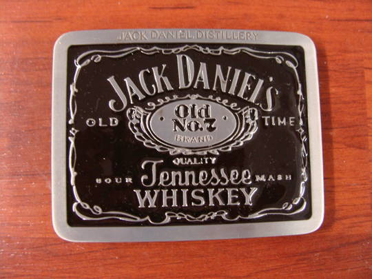 GIFTZONE - JACK DANEL BARRELS BUCKLE WITH $100 PURCHASE