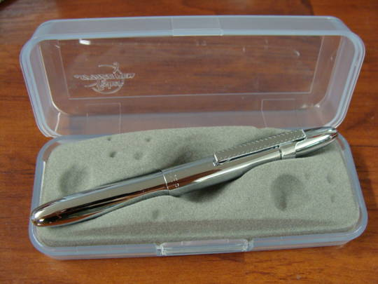 Fisher Space Bullet Pen Chrome With Clip