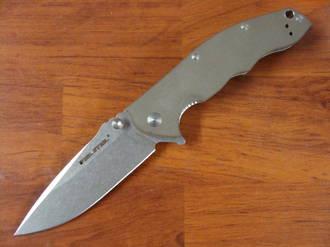 Real Steel T101 Thor Dark Earth Brown G-10 Folding Knife