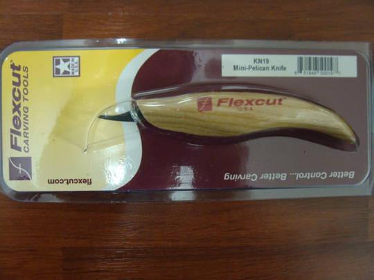 Flexcut Mini Pelican Knife - KN19