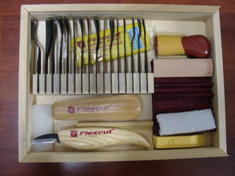 Flexcut Deluxe Starter Carving Set 21 Pce - SK108