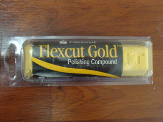 Flexcut Gold Polishing Compound - PW11