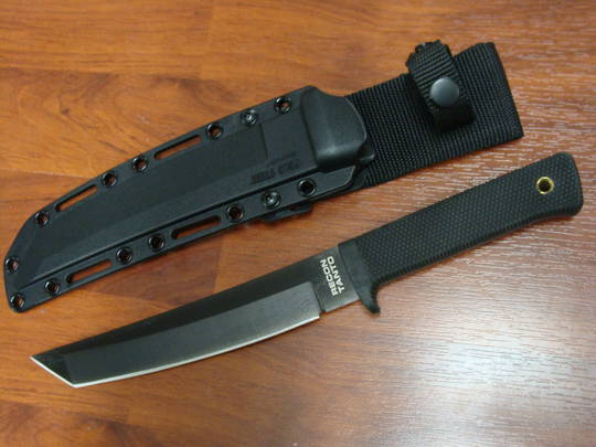 Cold Steel Recon Tanto Fixed CPM-3V Black Blade