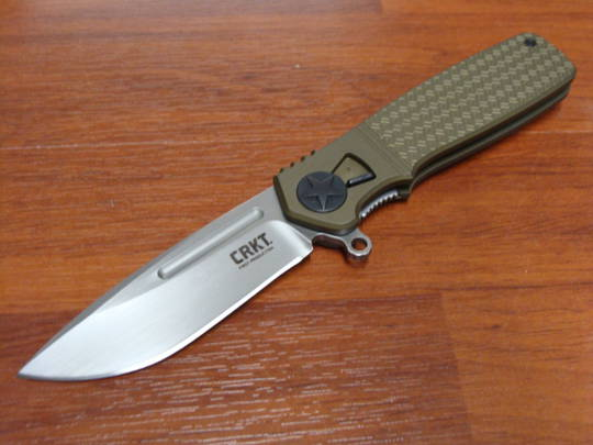 CRKT Ken Onion Homefront Field Strip Flipper Folding Knife