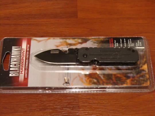 BlackHawk Hawkpoint Framelock Plain Knife