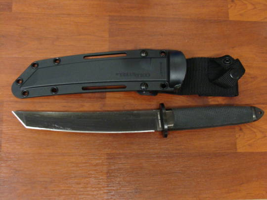 Cold Steel Magnum Tanto II Fixed 3V Blade - 13QMBII