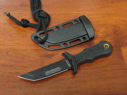 United Cutlery Sub Commander Black Mini Tanto