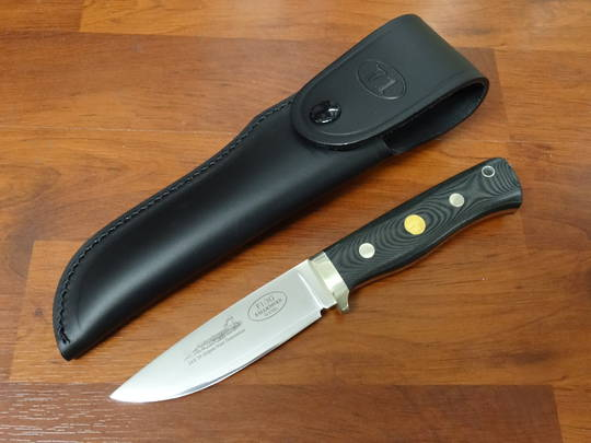 FALLKNIVEN NEXT GENERATION 3G STEEL BLACK MICARTA KNIFE - F1L3GBM