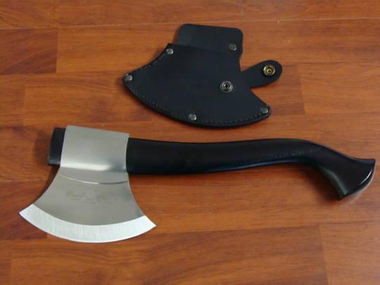 Fox Knives Trekking Axe Light Sassafrass Wood Handle - Black 682N
