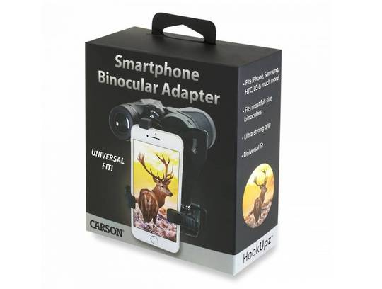 Carson HOOKUPZ™ SMARTPHONE BINO ADAPTER