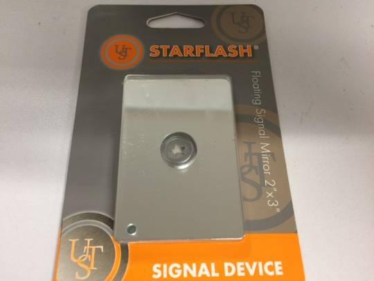 Ultimate Survival StarFlash Signal Mirror