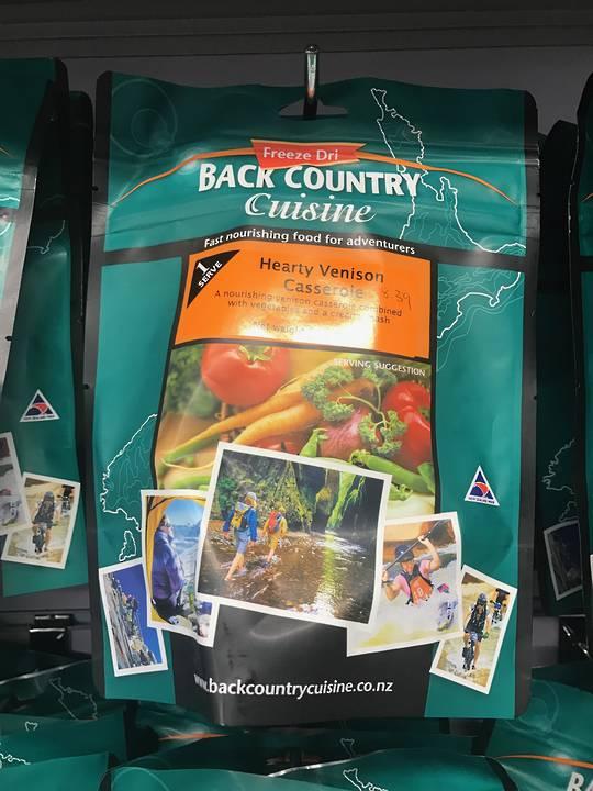 Back Country Cuisine Hearty Venison Casserole 1 Serve