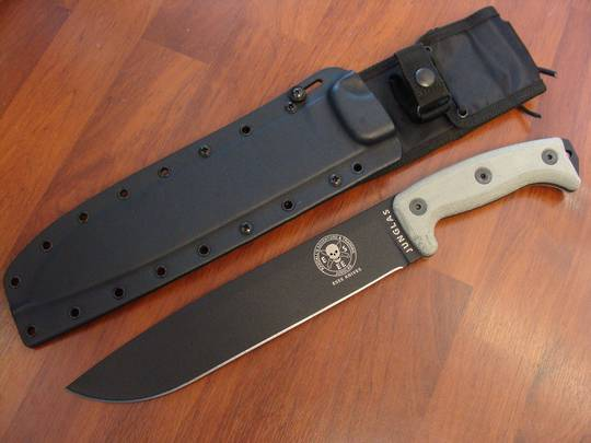 ESEE Junglas Machete Knife with sheath