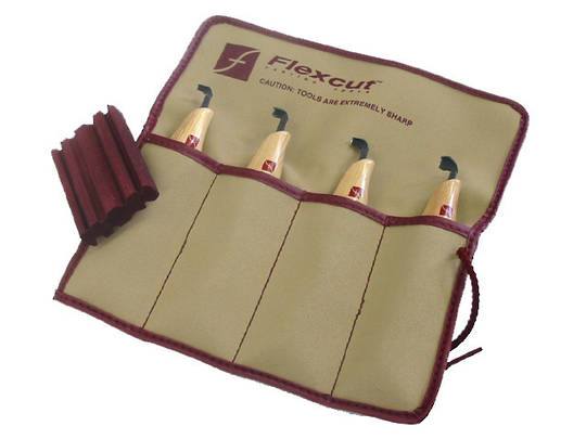 Flexcut KN150 Right-Handed Scorp Set