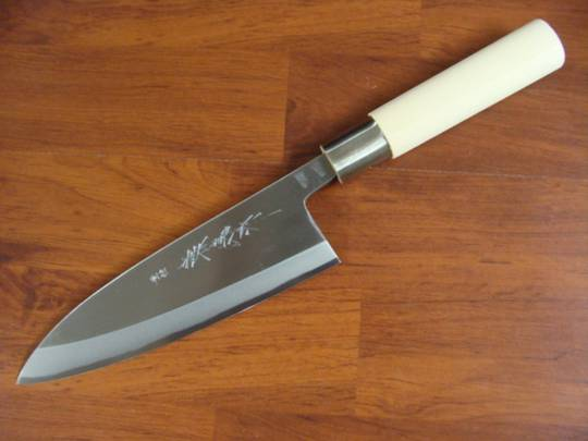 Kaneyoshi Japanese Deba Kitchen Knife 180mm