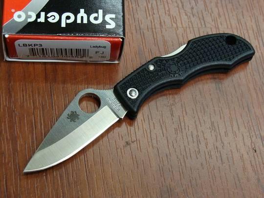 Spyderco LadyBug 3 Plain Edge Knife