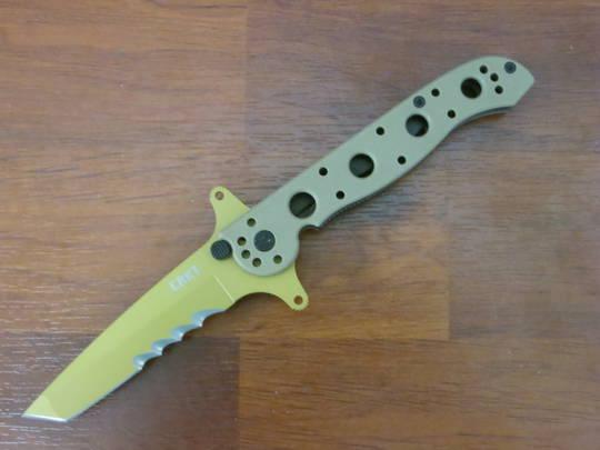 CRKT M16-13DSFG Special Forces G10 Folding Knife Desert