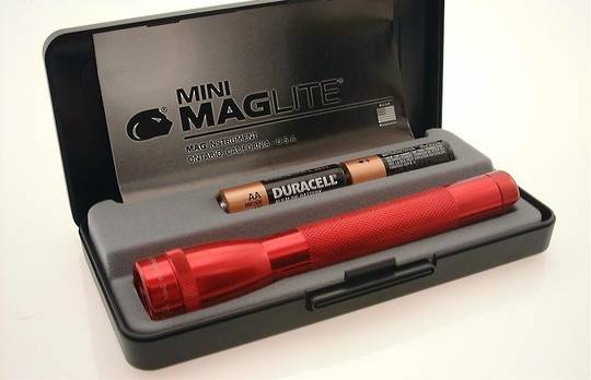 Maglite AA Torch Gift Box - Red