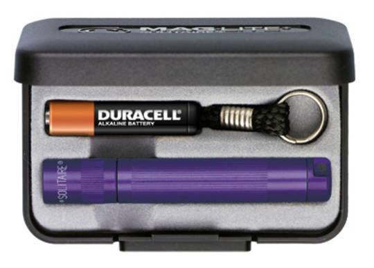 Maglite Solitaire Torch - Purple