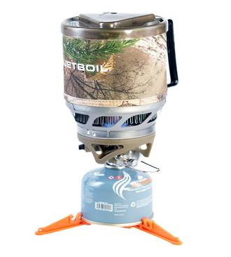 JETBOIL MINIMO COOKING SYSTEMS - REALTREE CAMO