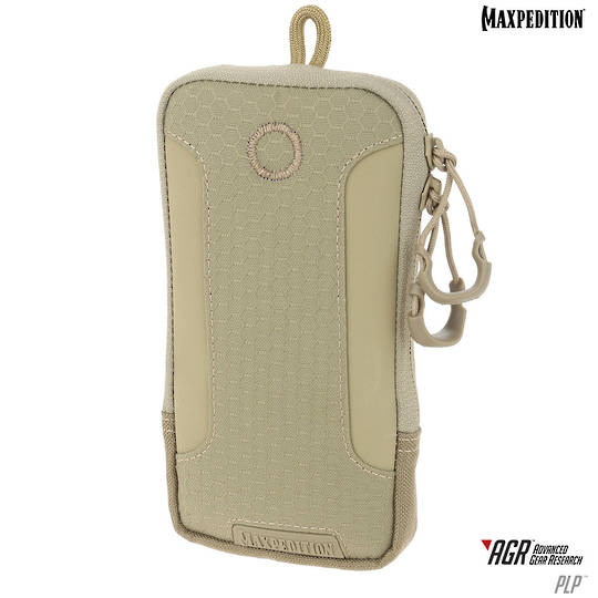 Maxpedition PLP iPhone 6 Plus, iPhone 7 or 8 Plus Pouch, Tan