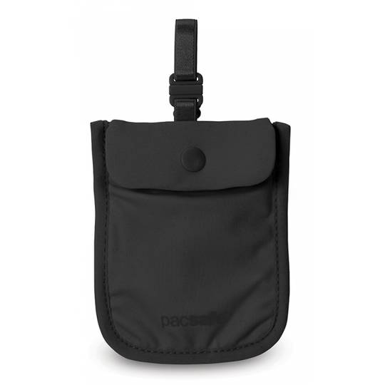 Pacsafe Coversafe S25 - secret bra pouch Black
