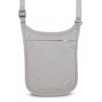 Pacsafe Coversafe V75 - RFID blocking neck pouch Grey