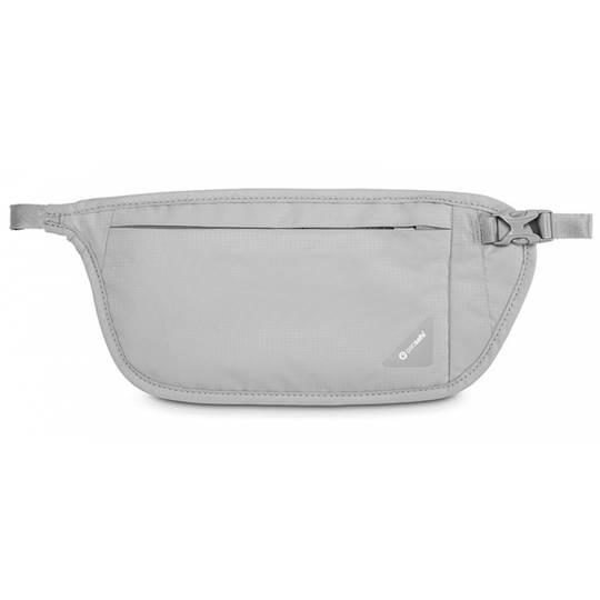 Pacsafe Coversafe V100 - RFID blocking waist wallet Grey