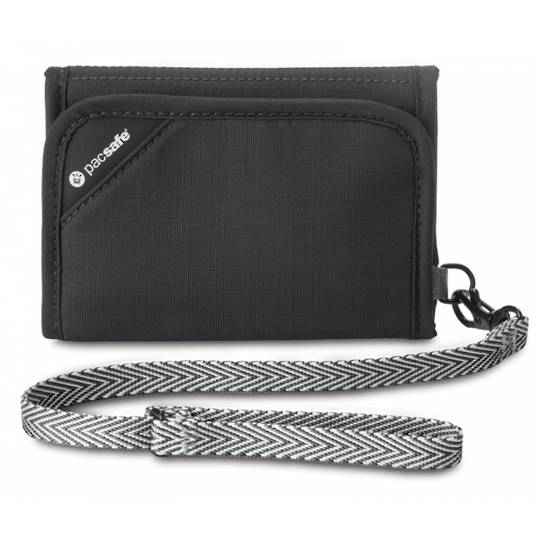 Pacsafe RFIDsafe V125 - RFID-blocking tri-fold wallet