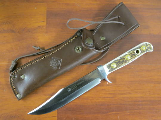 Puma Bowie Stag Horn Hunting knife