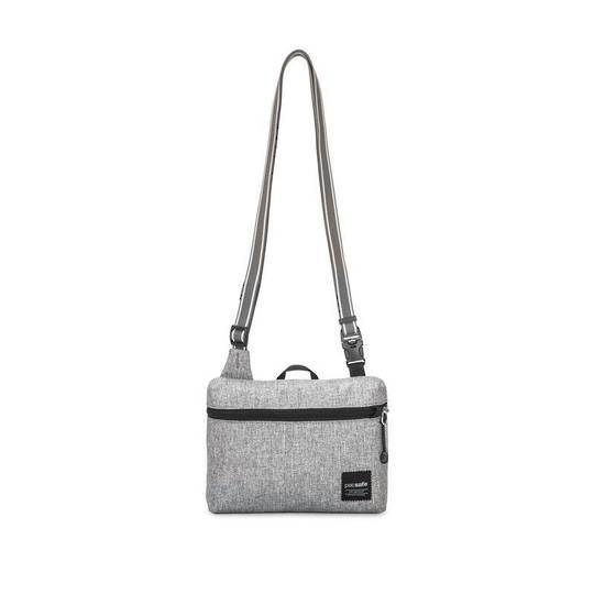 PACSAFE Slingsafe LX50 anti-theft mini cross body bag - Tweed Grey