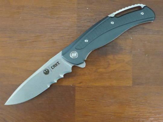 CRKT Ruger Windage stonewashed folding Knife