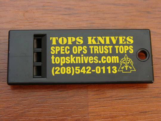 TOPS Knives Survival Whistle