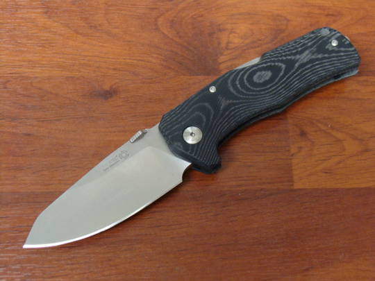 LionSteel TM1 MS Folding Sleipner Steel Blade Micarta Handle