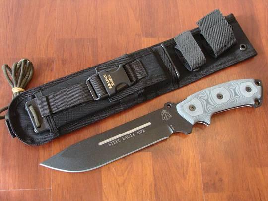 Tops Steel Eagle Drop Point Knife