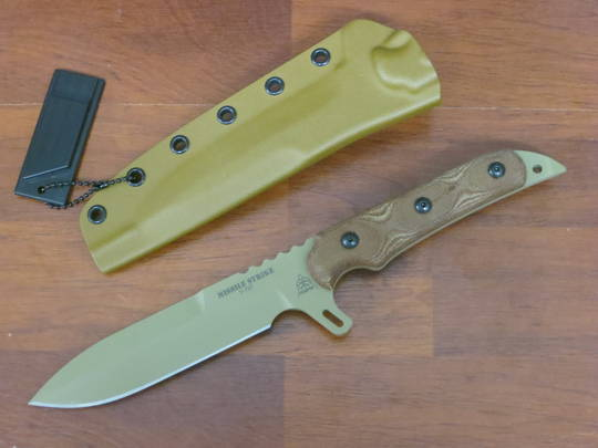 TOPS Knives Missile Strike Coyote Tan